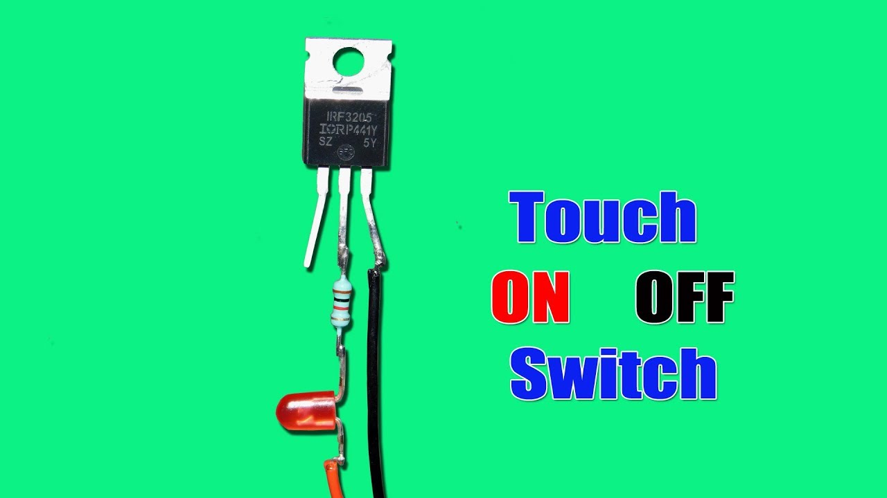 Single Touch On Off Switch Circuit Ud83d Udc48