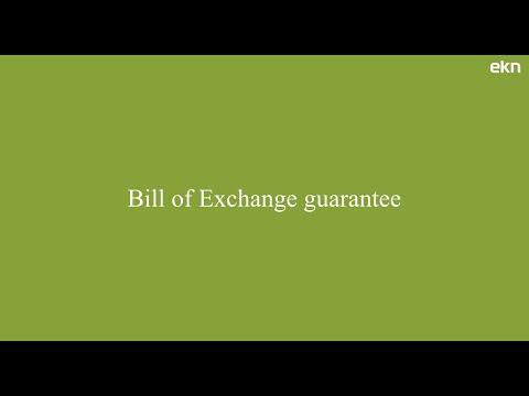 Bill of Exchange guarantee