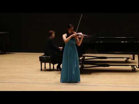 Julia Yuan: Wieniawski Violin Concerto No. 2, 1st Movement