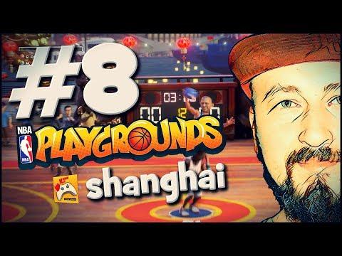 #8 SHANGHAI TURNUVASINI KAZANDIK, EFSANELER GELDİ! 🏀 NBA PLAYGROUNDS