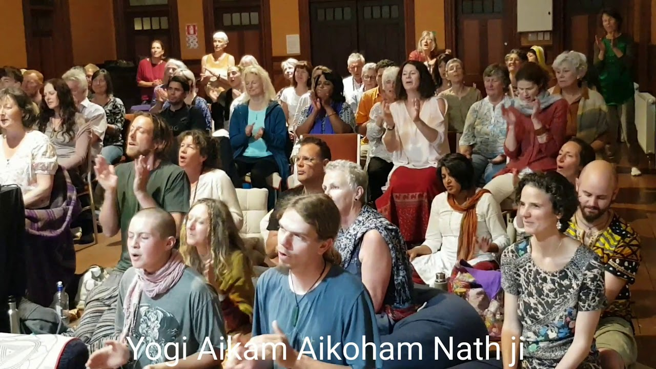 Sankirtan with Yogi Aikam Aikoham Nath Ji on Solstice day 21st December 2020 in Nelson