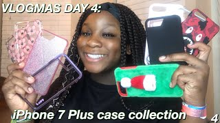 VLOGMAS DAY 4 | MY IPHONE 7 PLUS CASE COLLECTION