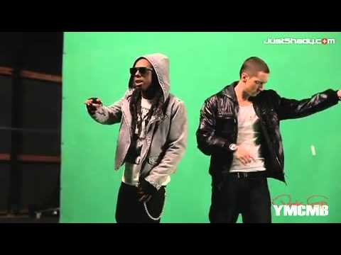 Making Of No  Love - Eminem Feat. Lil Wayne [Official HD Video]