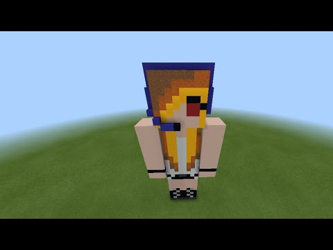Building Psycho Girl - Minecraft Jams' Minecraft Skin In MCPE