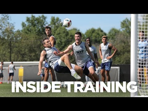 Frank Lampard's aerial battle | INSIDE TRAINING 19