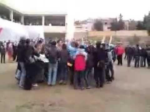 SAIDA : Lycée Jeune Filles 2009 ( souvenir ) 1.2.3 Viva L'Algérie