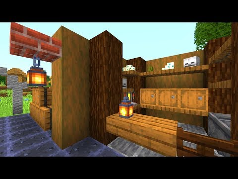 Minecraft 1.14 Bau Hacks - Dekoideen Mit Neuen Items