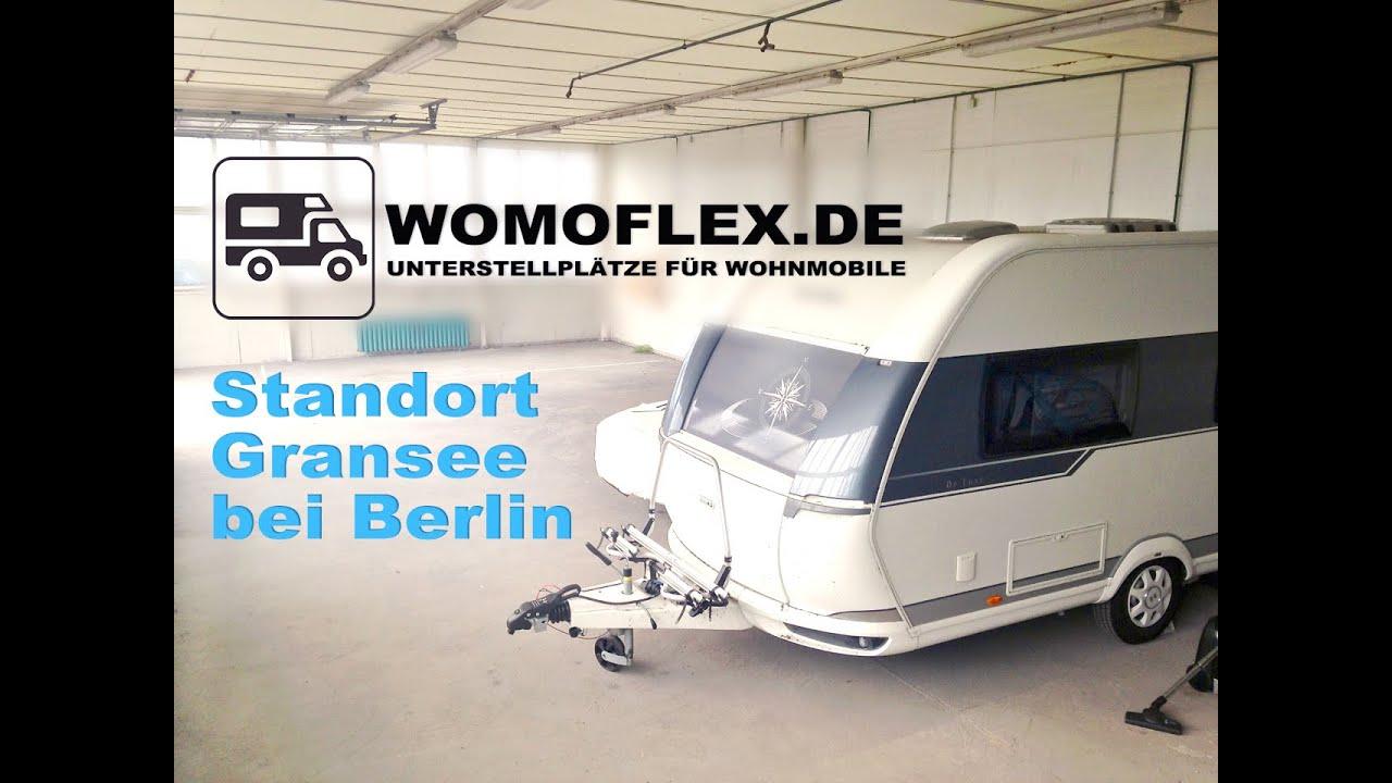 wohnmobil unterstellplatz in brandenburg bei berlin youtube. Black Bedroom Furniture Sets. Home Design Ideas