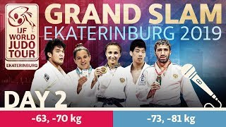 Judo Grand-Slam Ekaterinburg 2019: Day 2