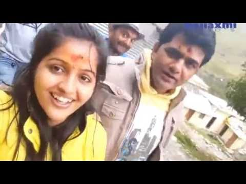 Masti Mood on shoot | Uttar Kumar ( Dhakad Chhora ) & Kavita joshi