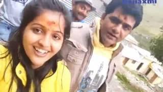 Masti Mood On Shoot  Uttar Kumar  Dhakad Chhora  & Kavita Joshi