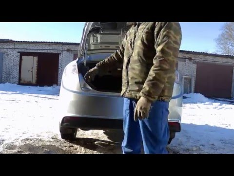 FAW Oley ремонт бампера