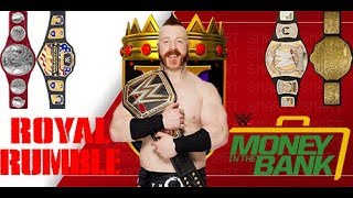 All Of Sheamus Championship Wins In WWE #1