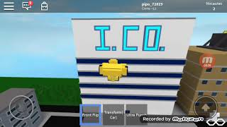 Transformers Roblox Transformed Robo cars