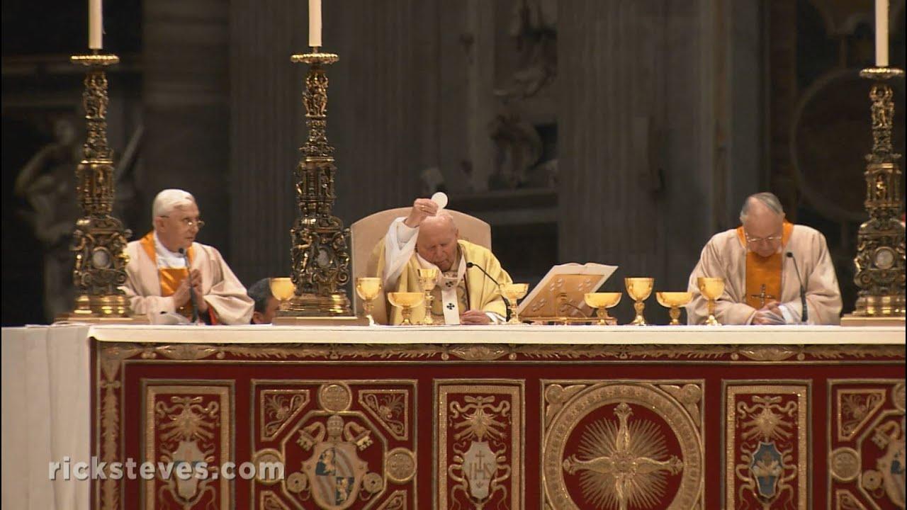 Pope John Paul II Celebrates Christmas One Last Time - YouTube