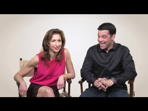 David Alan Basche From TV Land's The Exes And His Wife Alysia Reiner From 'Orange Is The New Black'