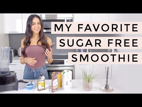 Healthy Smoothie Recipe With No Sugar | Dr Mona Vand