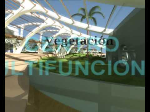 Jardin botanico y centro multifuncional en sevilla anghel for Jardin botanico en sevilla