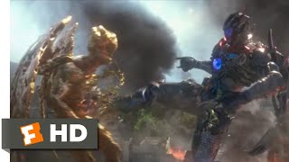 Power Rangers (2017) - Megazord Fights Goldar Scene (10/10) | Movieclips