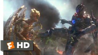 Power Rangers (2017) - Megazord Fights Goldar Scene (10/10) | Movieclips