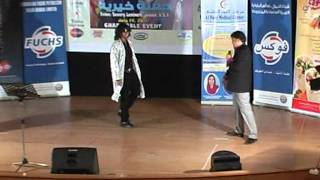 Singer SAHEB KHAN with Pakistani Comedian Javed Shaikh alias Jr. Govinda