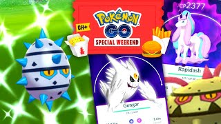 Event Crazy in Pokemon GO | Shiny Ferroseed, Mega Gengar & Galarian Ponyta