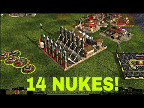 China Nuke Spam | Nuke General | C&C Zero Hour | Contra Mod 2020 | 2 Vs 4