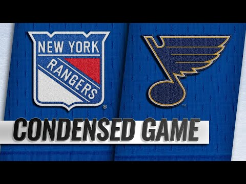 12/31/18 Condensed Game: Rangers @ Blues