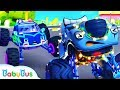 Police Truck Chases Bad Guy | Police Cartoon | Nursery Rhymes | Kids Songs | Color Song | BabyBus Videos [+50] Videos  at [2019] on realtimesubscriber.com