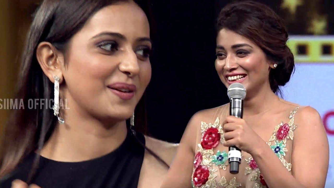 Shriya Reveals her Secret to Rakul Preet