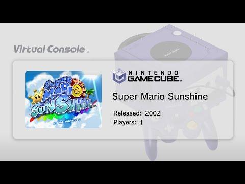 Gamecube Virtual Console on Wii U Gameplay! (Nintendont Mod) (Super Mario Sunshine)