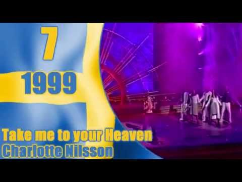 Eurovision: SWEDEN's Top 10 Songs
