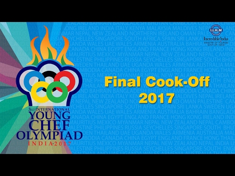 Young Chef Olympiad 2017 Final Cook-Off