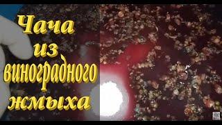 Чача из винограда / часть #1/ Как сделать чачу - простой рецепт!