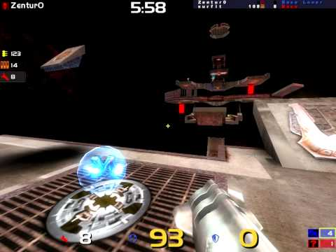 Quake Live CTF: Attacking On Space CTF (ctf4)