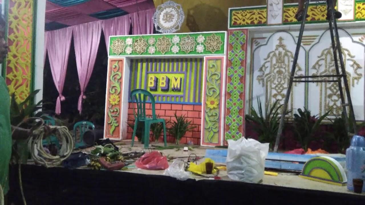 Dekor Keren Pengajian Halal Bi Halal Hisma Ipnu Ippnu Desa