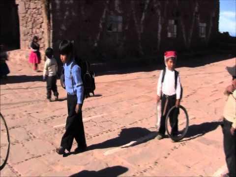 Taquile Island of Lake Titicaca (ama sua, ama llulla, ama qhilla)