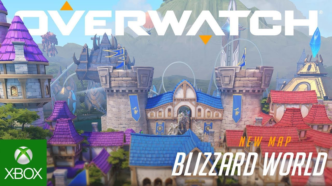 Blizzard World New Hybrid Map Overwatch Xbox One Youtube