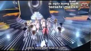 MUST SEEThe X Factor:Paije Richardson sings Crocodile Rock  Elton John Live show 6
