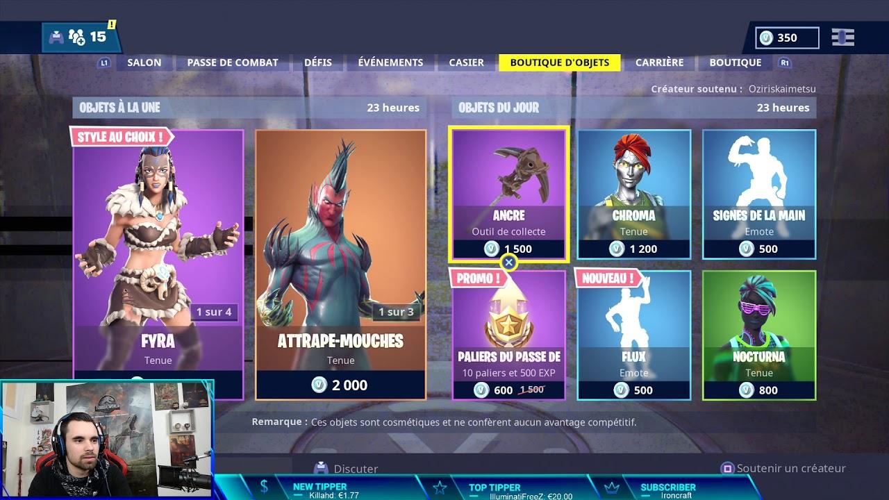 boutique fortnite 19 janvier 2019  item shop january 19