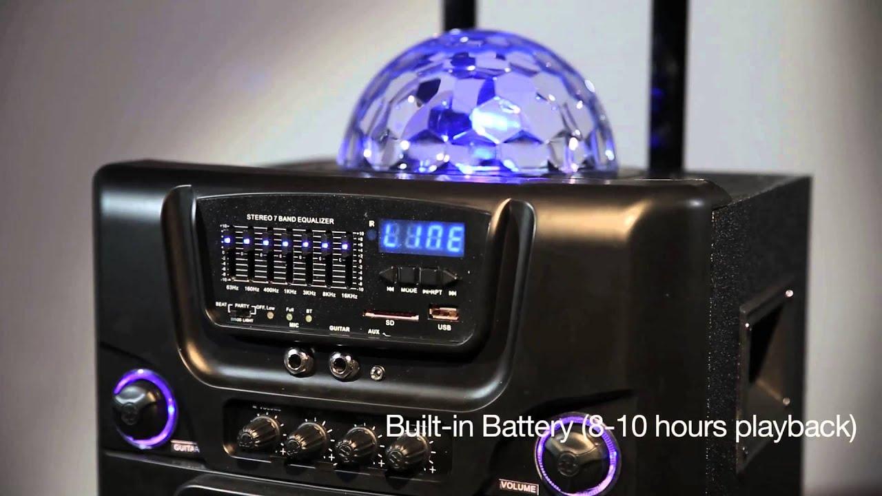 Holysmoke Idisco Large Party Speaker Youtube