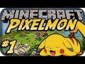 Minecraft: Pixelmon | Episode 1 | Pokemon Master!!