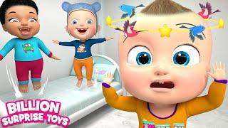 Five Little Babies Eating Vegetables | Children Songs | Billion Surprise Toys