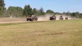 O Esquadrão de Cavalaria  Mecanizado