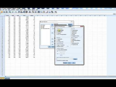 Weighted least squares regression using SPSS