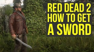 Red Dead Redemption 2 Tips And Tricks - How To Get A SECRET SWORD (RDR2 Tips And Tricks)