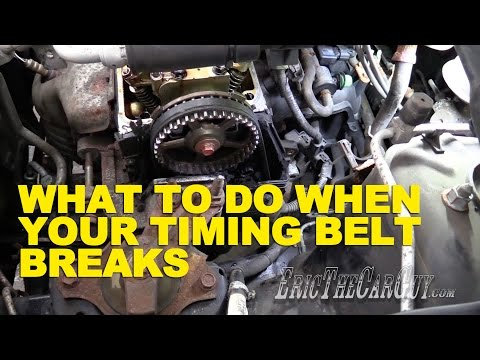 What To Do When Your Timing Belt Breaks -EricTheCarGuy