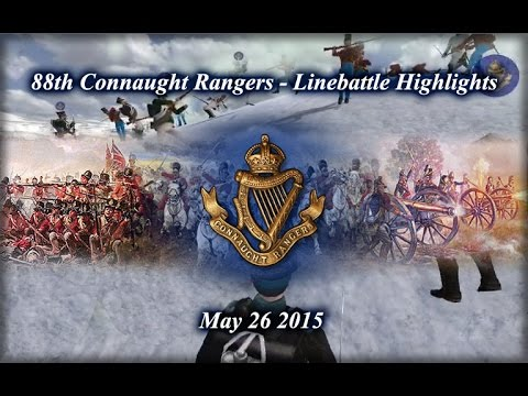 88th Connaught Rangers Linebattle Highlights - May 26th, 2015