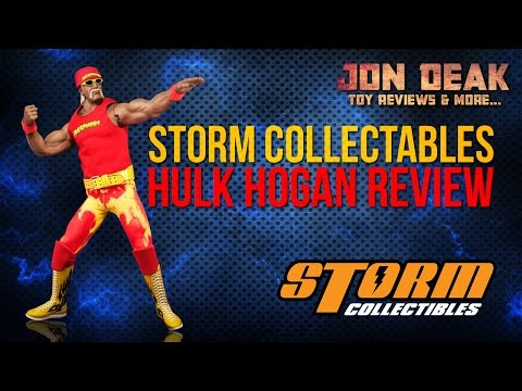 STORM COLLECTABLES HULK HOGAN FIGURE ( REVIEW )