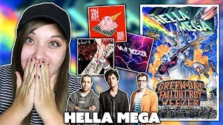 THE HELLA MEGA TOUR | NEW GREEN DAY/FALL OUT BOY/WEEZER MUSIC